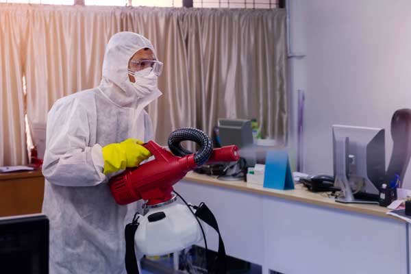 Coronavirus Commercial and Industrial Cleaning Perth WA